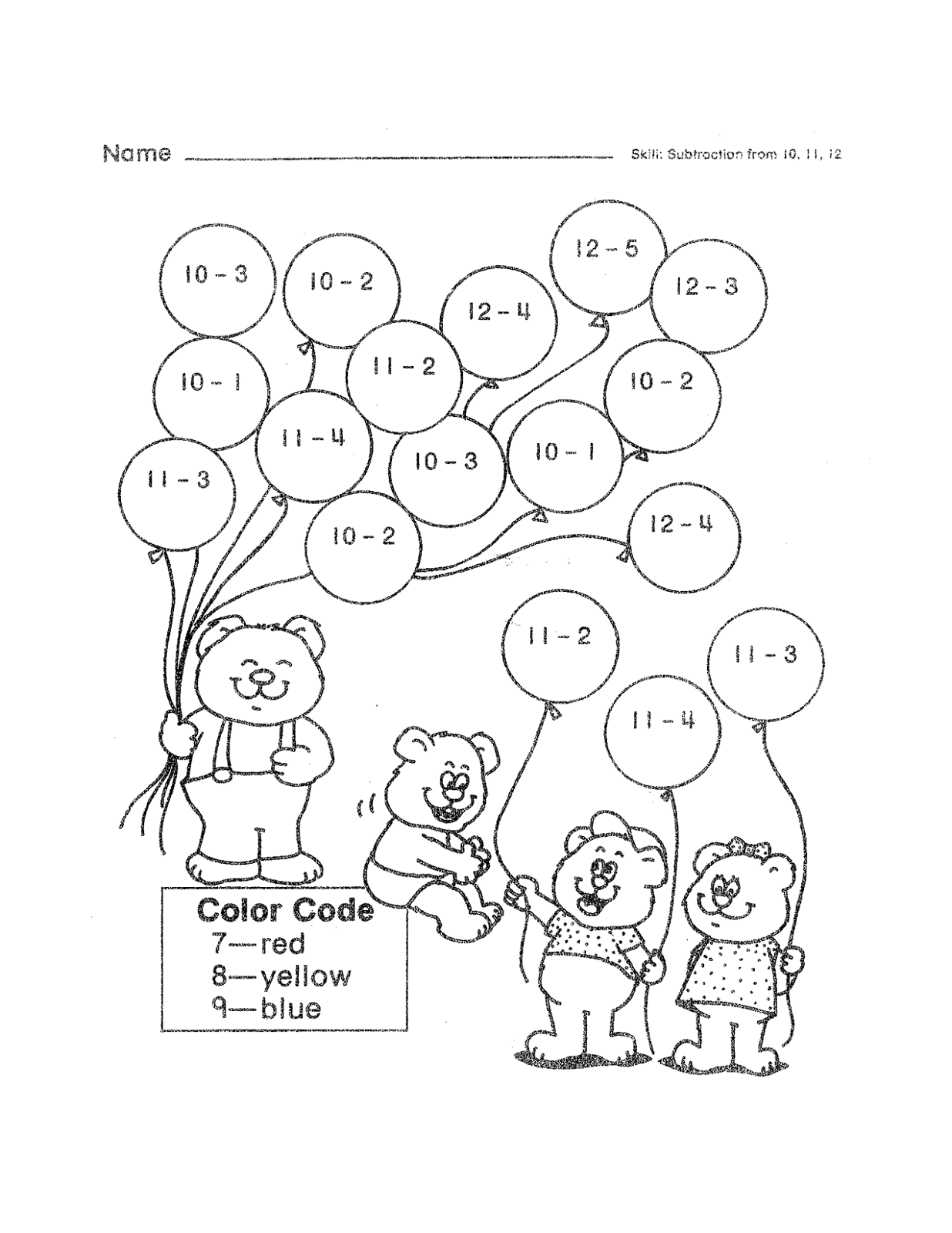 Fun Math Sheets for Playful Learning | Kiddo Shelter | Coloring ...