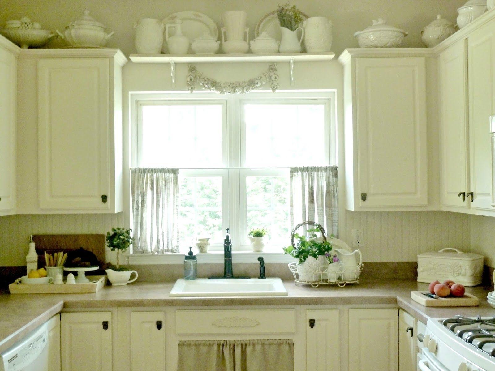 Kitchen Window Curtains Stunning Bright Smaller Kitchen Silk Small ...