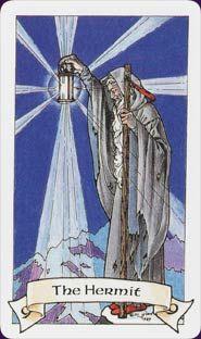 Billedresultat for tarot cards the hermit