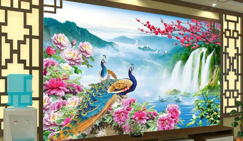 3D Beautiful Flowers 8 Wall Paper Murals Wall Print Wall Wallpaper Mural AU Kyra