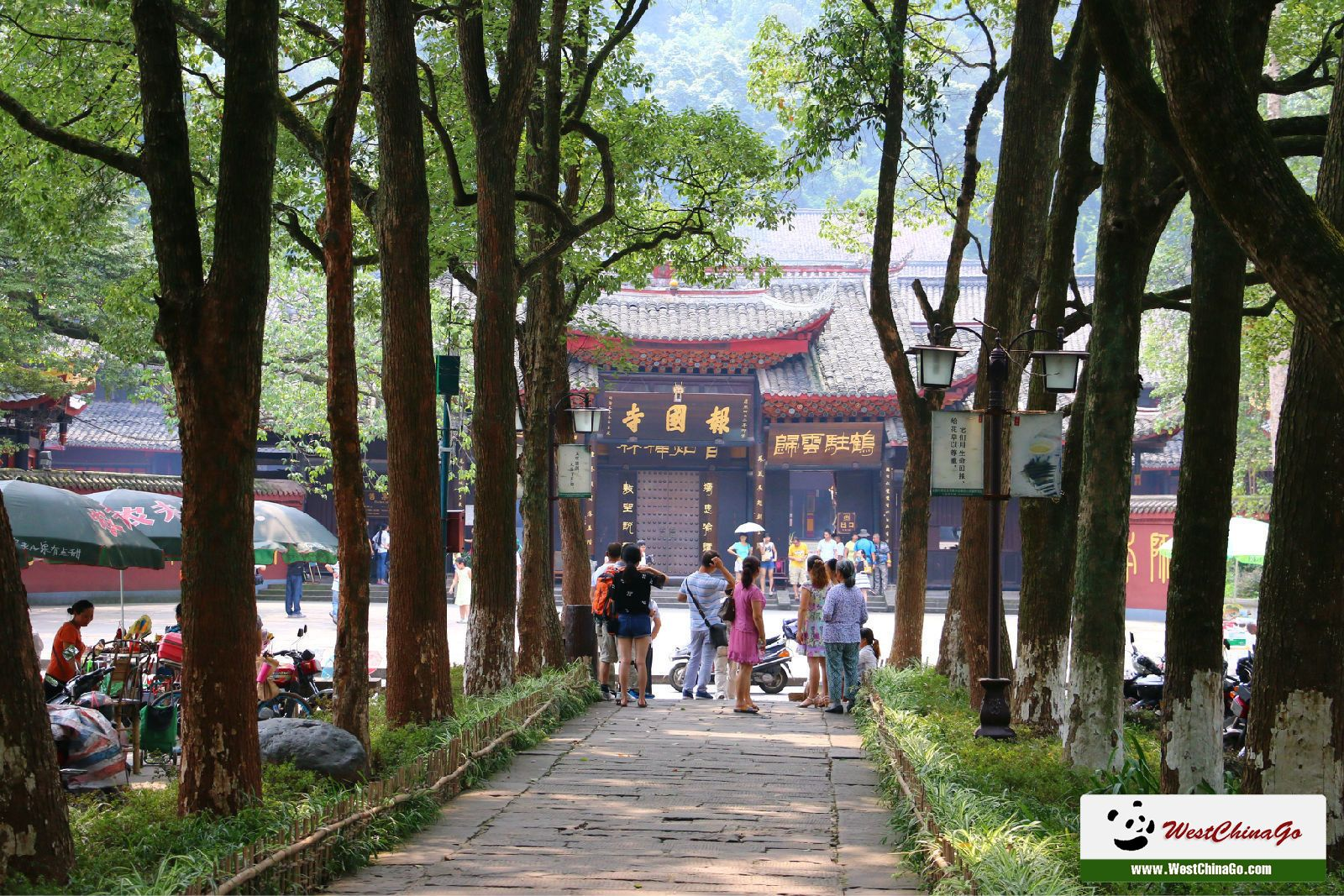 fuhu monasty_mount emei tour