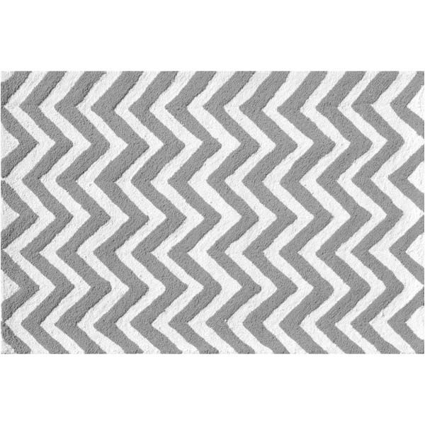 Chevron Grey Rug With Images