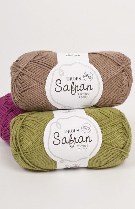 Fargekart for DROPS Safran ~ DROPS Design | Crochet | Pinterest | Lana