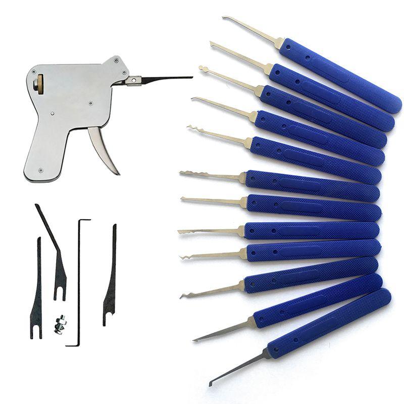 Pin On Blue Lock Pick Set 17pcs