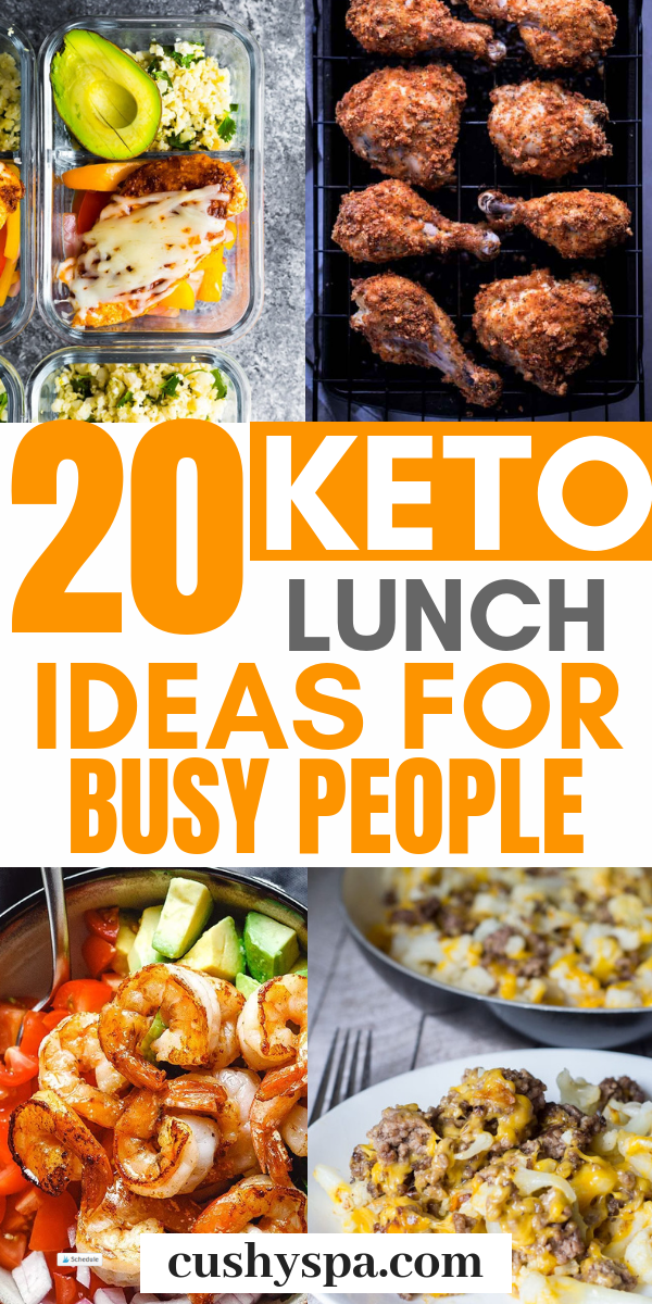 Try these keto lunch ideas for work and make your own low carb meals for the office. These are great...