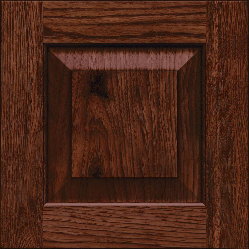 Kraftmaid 15x15 In Cabinet Door Sample In Dillon Rustic Hickory In Kaffe Rdcds Hd Dah4 Kah The Home Depot Kraftmaid Cabinet Doors Kraftmaid Kitchens