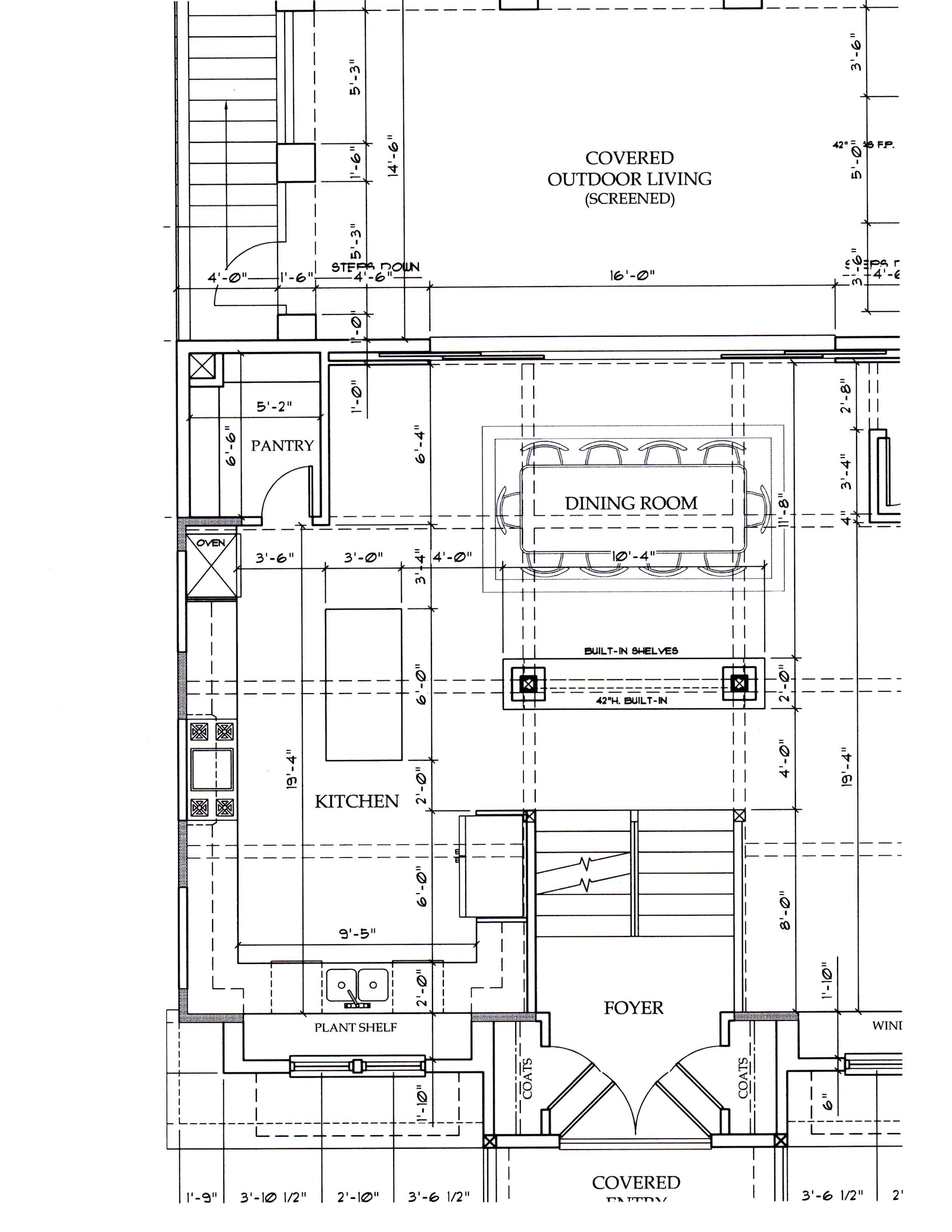 kitchen floor plan Look