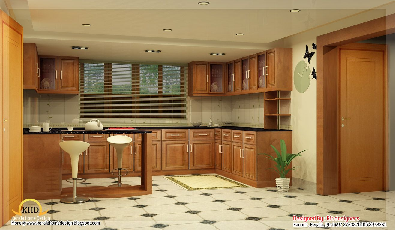 Beautiful 3d Interior Office Designs: Beautiful Interior Designs Kerala Home Design And Floor