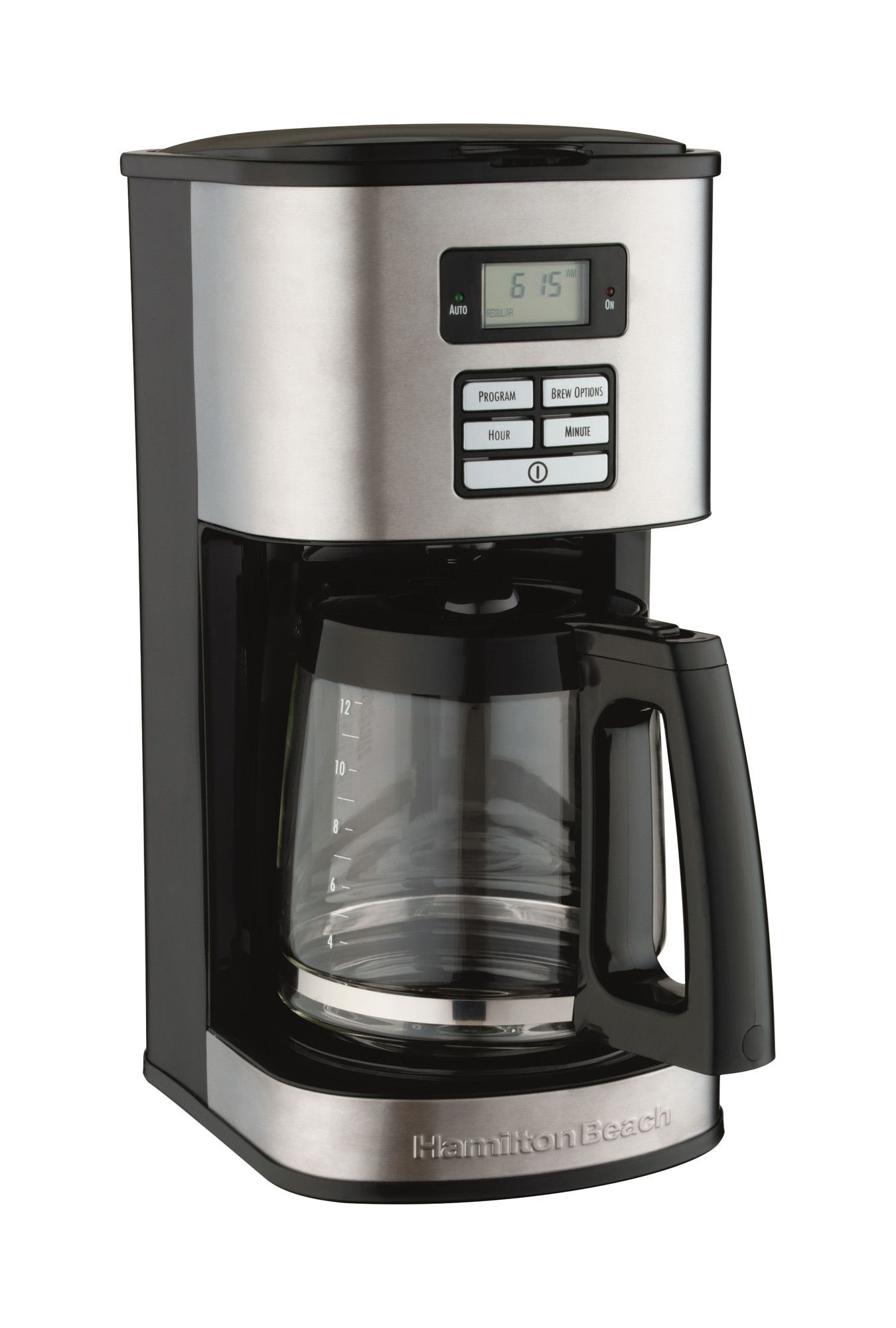 12 Cup Stainless Steel Coffee Maker Stainless steel
