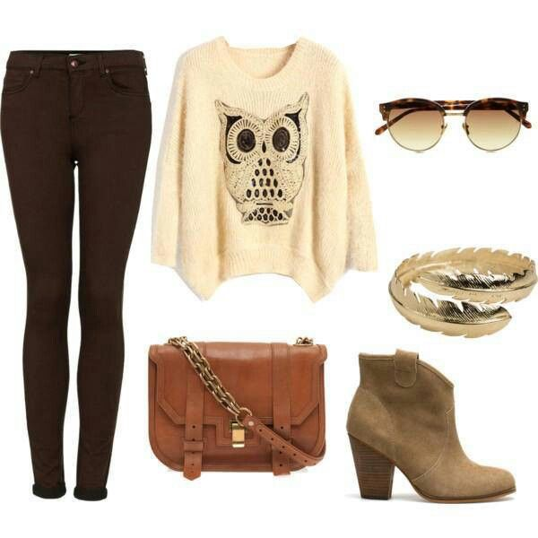 Cute winter date/movie night outfit