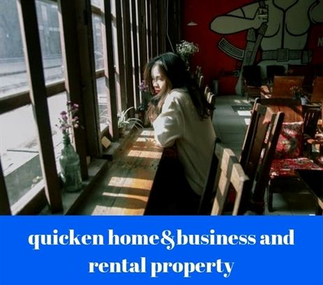 quicken #home business and rental