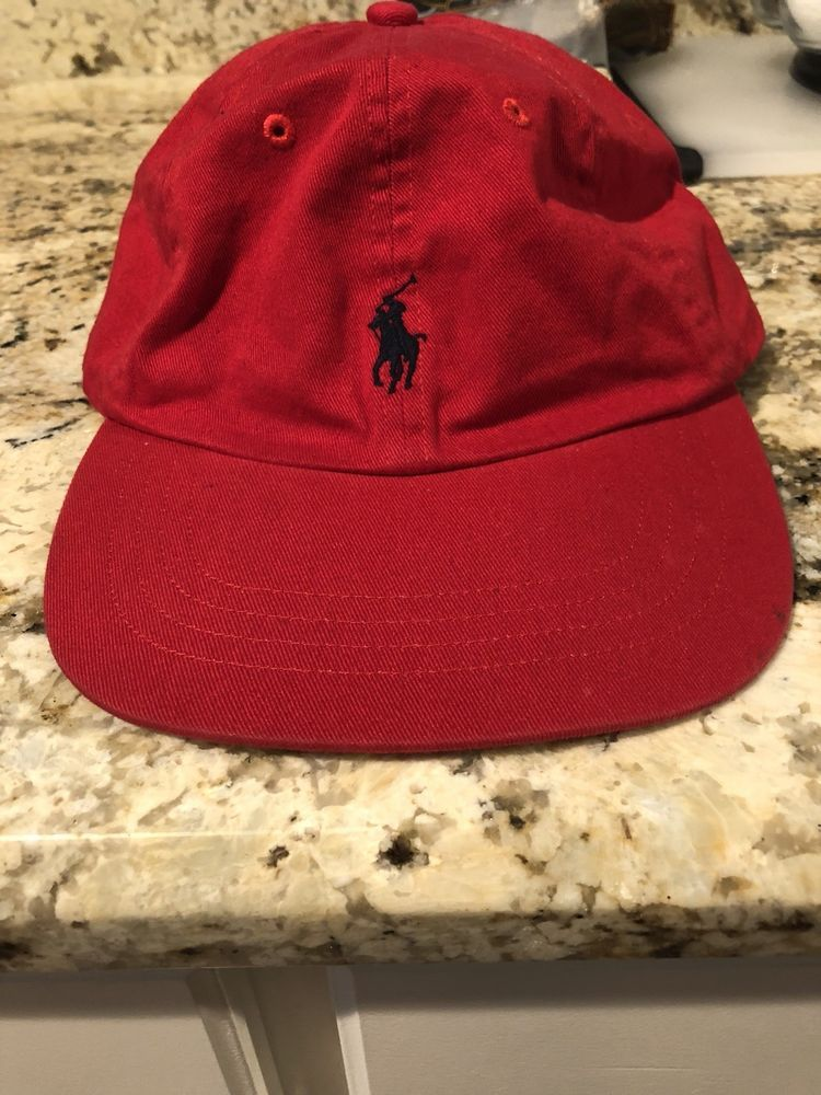 bac117d51 Red Ralph Lauren Polo Hat  fashion  clothing  shoes  accessories   mensaccessories  hats (ebay link)