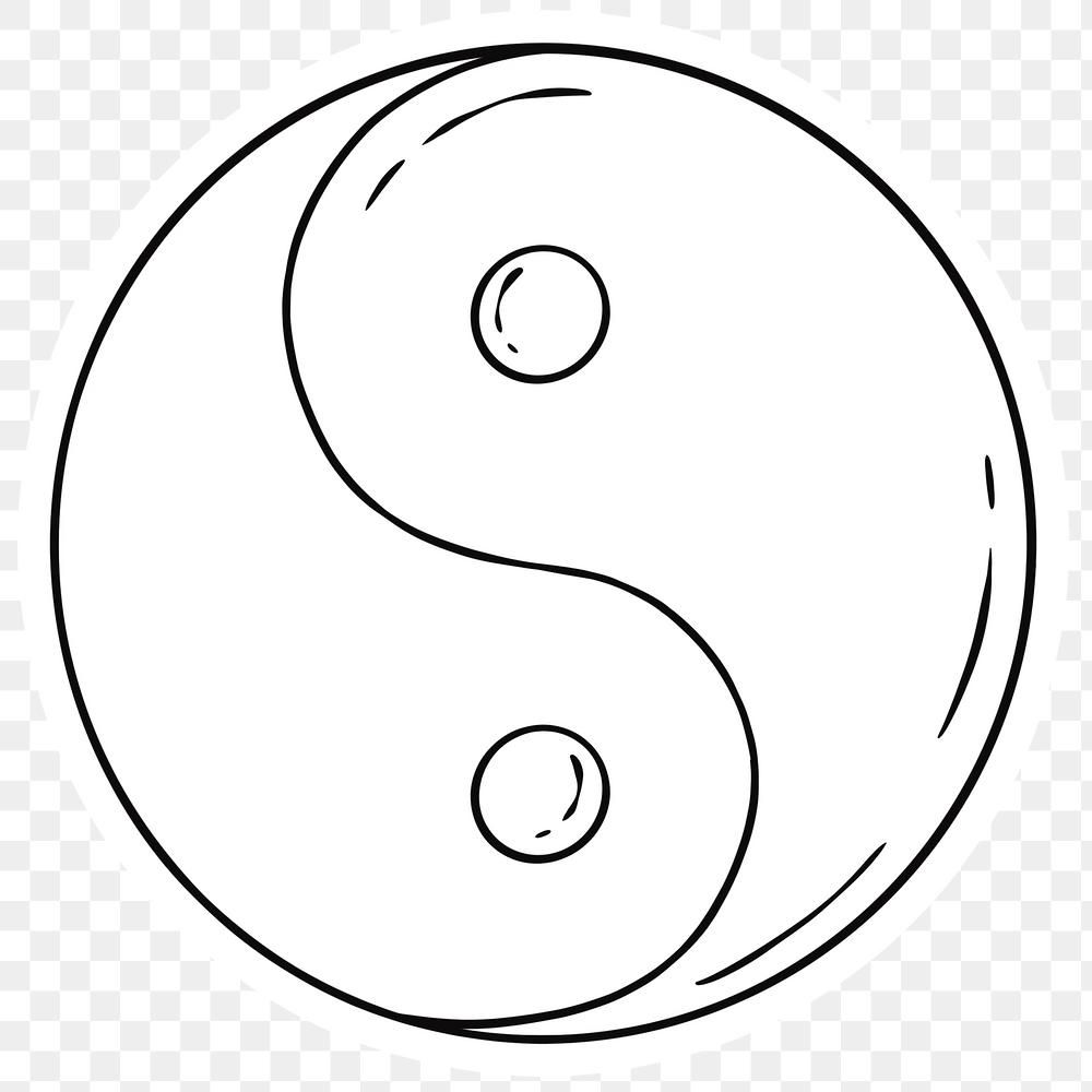 Hand Drawn Yin Yang Png Sticker Free Image By Rawpixel Com Noon How To Draw Hands Png Yin Yang