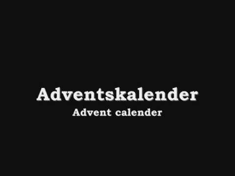 Learn Swedish: Christmas Words! Merry Christmas And A Happy New Year!