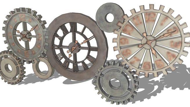 Horloge Maisons Du Monde Réf 130349 Prix179 3d