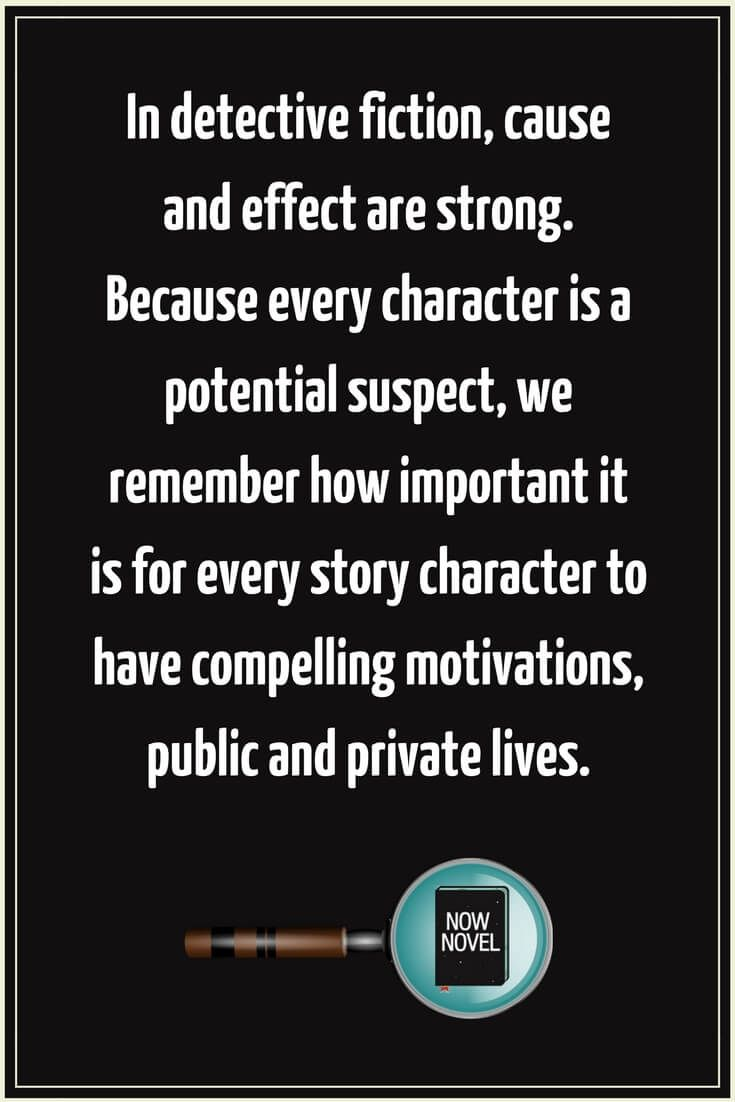 How To Write A Detective Story 7 Keys Pinterest Math Solver