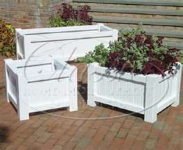 I Like The Idea Of White Wooden Planters For Outdoor Wedding Decor