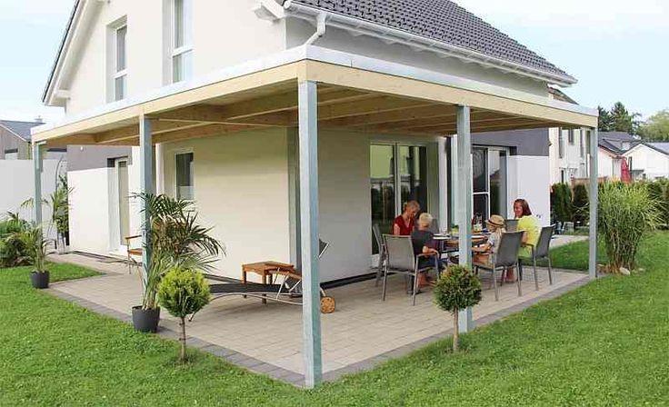 Carport & Gartenhaus KUBUS FLEX TERRASSENDACH KUBUS FLEX