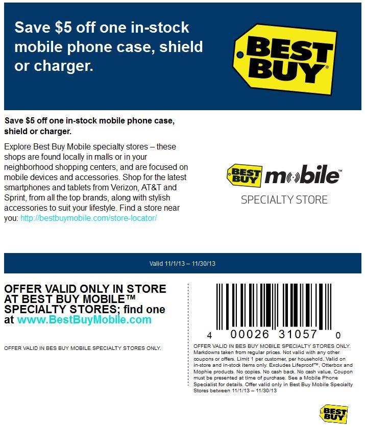 Pinned November 22nd 5 Off A Phone Case At Best Buy Mobile Stores Coupon Via The Coupons App Best Buy Coupons Buy Coupons Free Printable Coupons