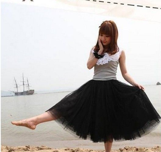 Skirt Dress Tulle New Bouffant Ebay Layered Women Style 5 Fairy Princess Hot wvwFUqZ