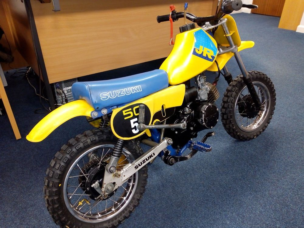 1989 Suzuki Jr50 Very Original Kids Childrens Motorcycle Classic As Pw50 No Res Suzuki Motorcycle Classic
