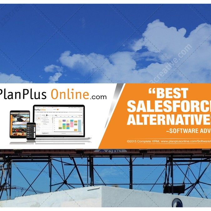 PlanPlusOnline.com Billboard For CRM Software (Salesforce