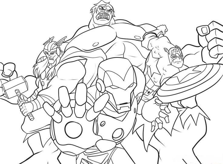 Marvel Coloring Pages Superheroes Pinterest Marvel Coloring