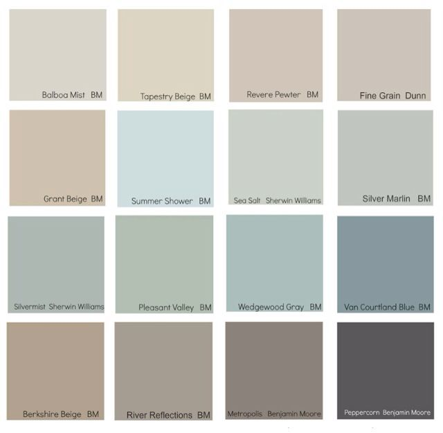 Wandfarbe Farbpalette Hornbach: Coordinating Colors