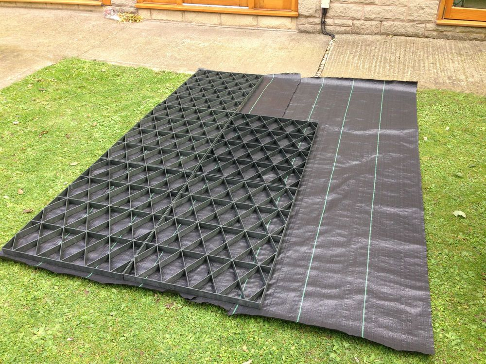 Plastic Covers Garages : Garden shed base full kit heavy duty membrane eco slab