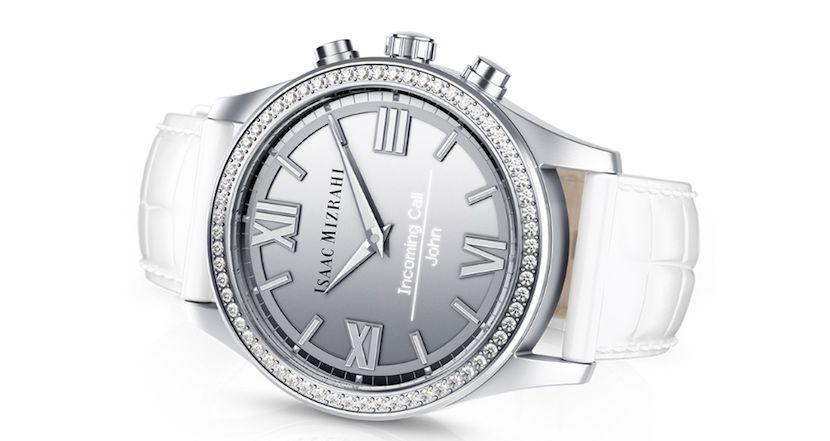 Isaac Mizrahi se alía con HP y Swarovski para lanzar un smartwatch para mujeres - http://www.actualidadgadget.com/isaac-mizrahi-se-alia-con-hp-para-lanzar-un-smartwatch/