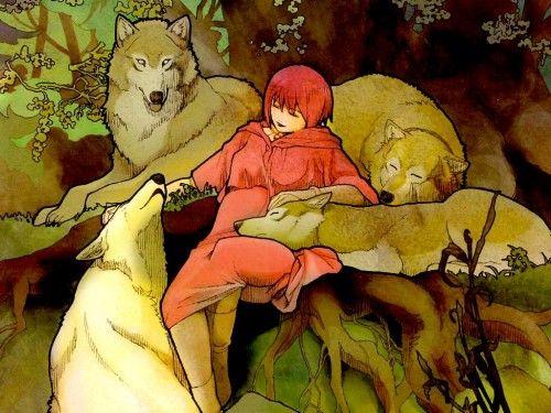 Wolf S Rain Wallpaper Sleeping Minitokyo Wolf S Rain Wolf Spirit Animal Rain Wallpapers