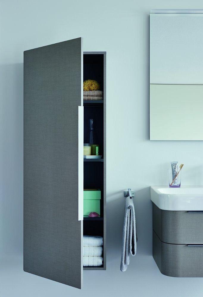 Column Bathroom Cabinet HAPPY D.2 Happy D.2 Collection By DURAVIT Italia    Design Sieger Design