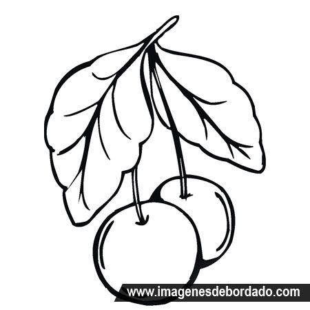 Imagenes De Frutas Para Colorear  Dibujos de frutas limones