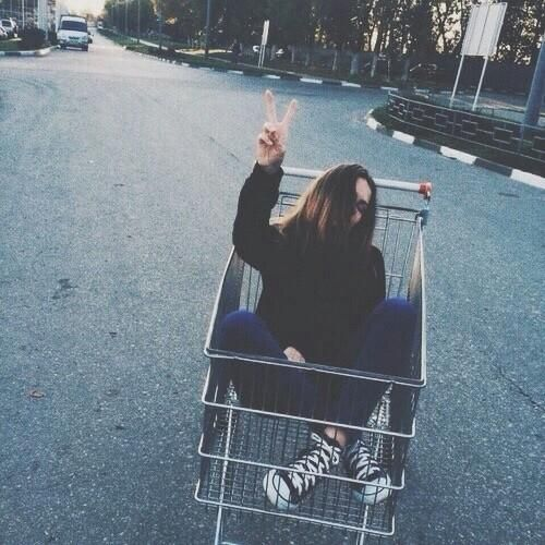 2 Take The Basic Shopping Cart Aesthetic Pic Grunge
