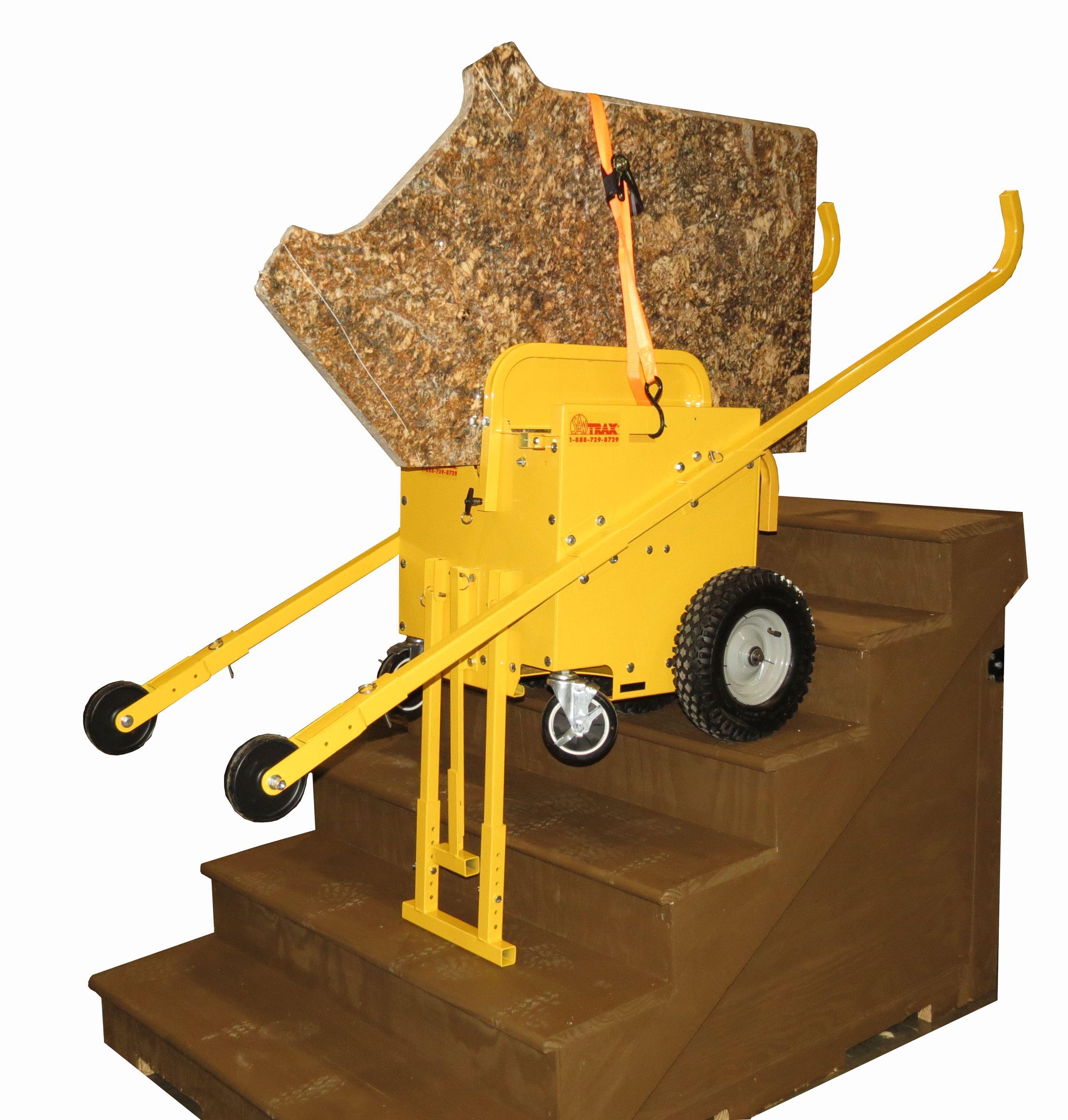 Granite Express Slab Cart Stair Climbing Option Coming