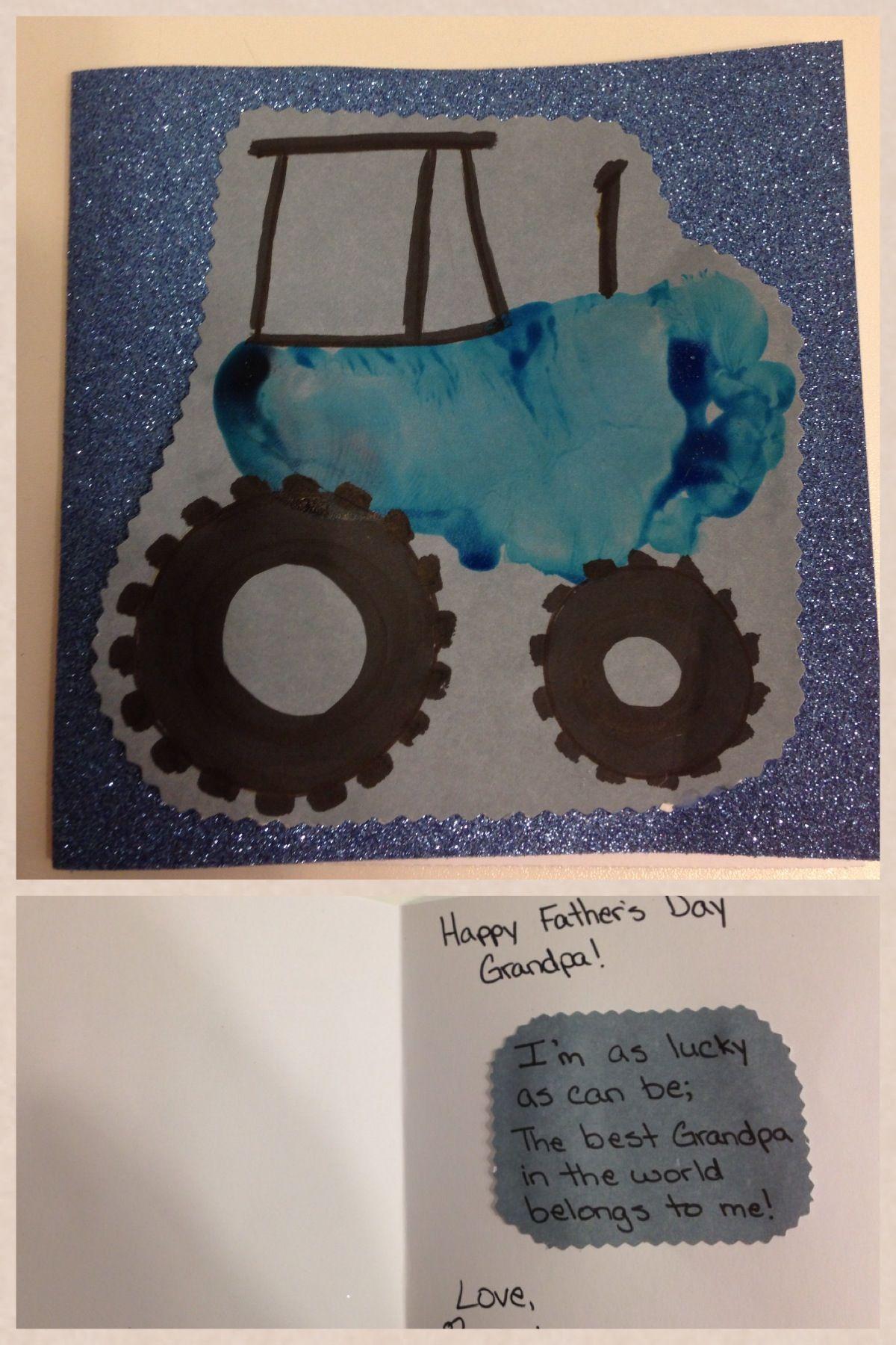Fatherus day card for grandpa diy pinterest happy birthday