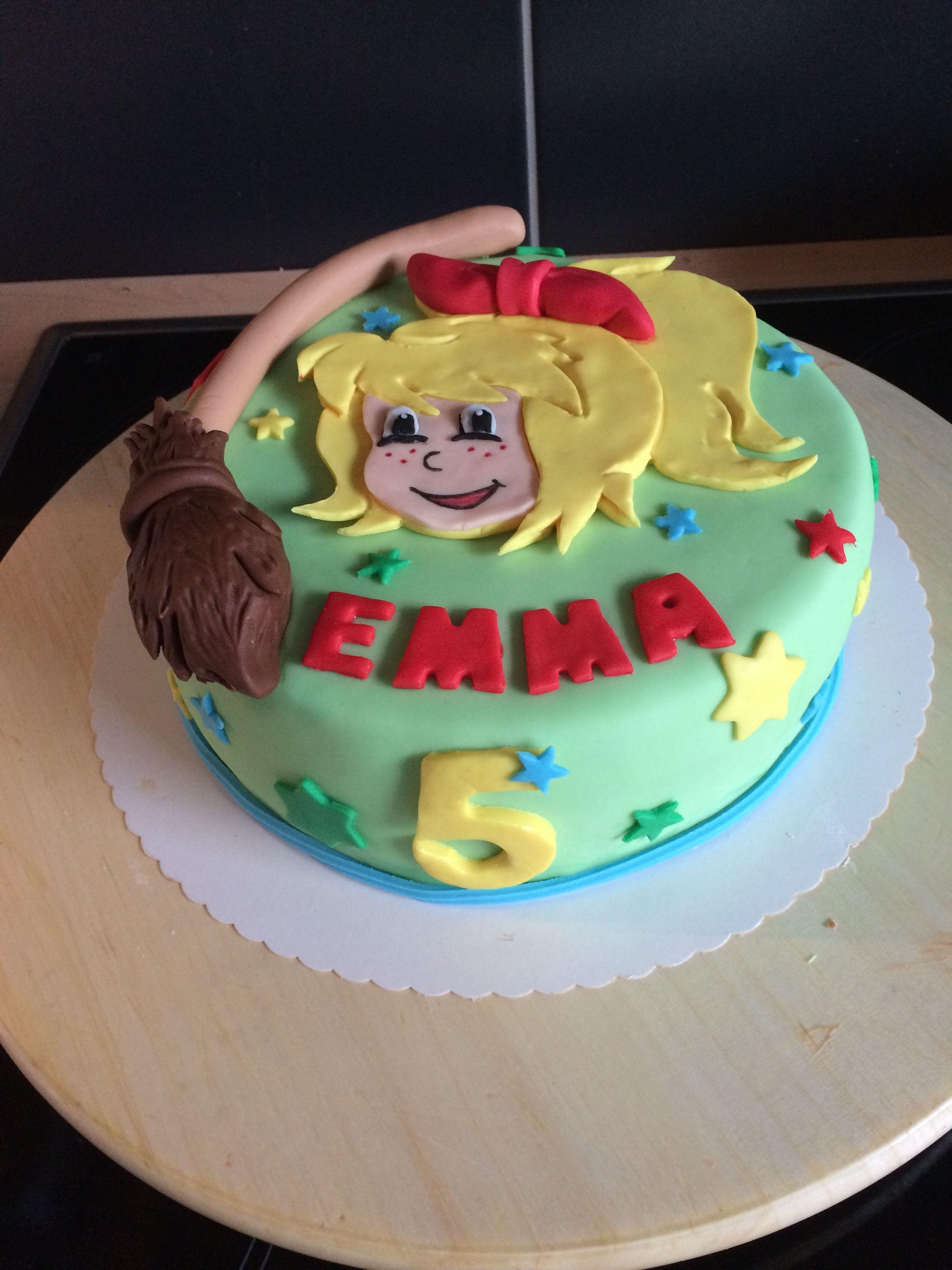 Bibi Blocksberg Torte Bibi Blocksberg Torte Geburtstag Kuchen Madchen Torte Kindergeburtstag