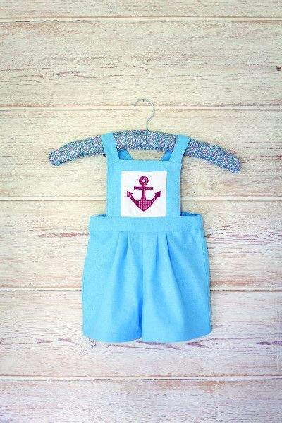 Baby rompers are the cutest! This one is a free sewing pattern ...