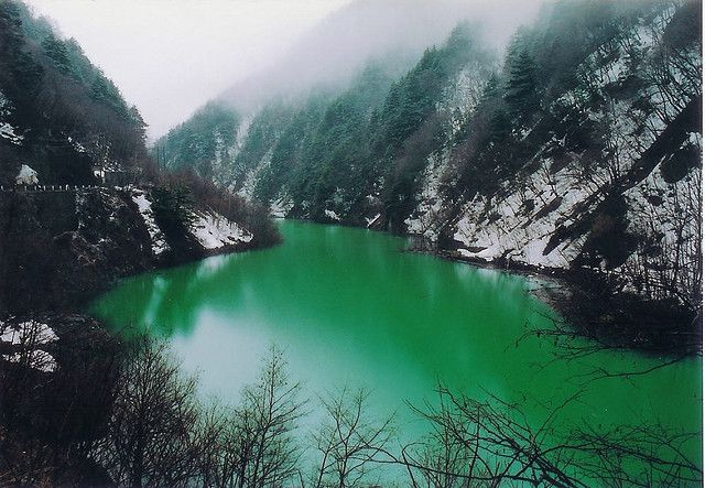 Gifu prefecture, Japan - Green River by FilterEast.com, via Flickr