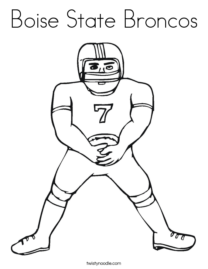 Incredible Peyton Manning Coloring Pages Following Modest Article ...