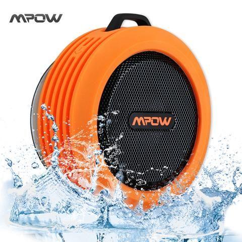 Mpow Buckler Portable Wireless Bluetooth 3.0 Speaker. Waterproof