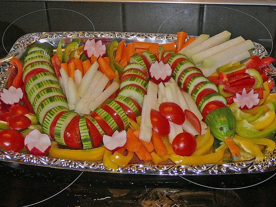 Gurkenschlange Im Gemüsebeet  Rezepte  Party  Gemüse