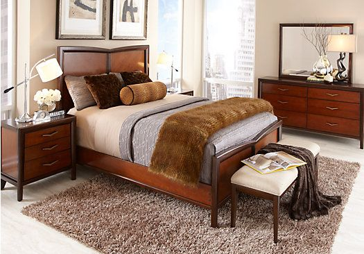 Shop for a Sofia Vergara Beverly Hills 5 Pc Queen Bedroom at Rooms ...
