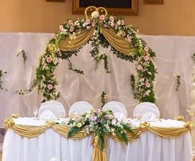 Replay Pictures Of Head Table Decorations