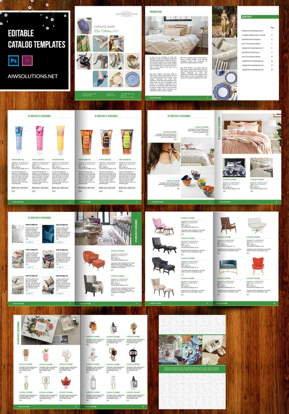 Product Catalogue Brochure Catalogs Template Clean Product Catalog