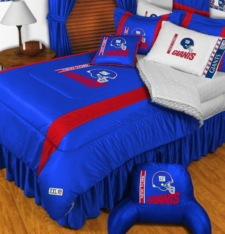 New York Giants Nfl Bedding Sidelines Complete Set By Sports