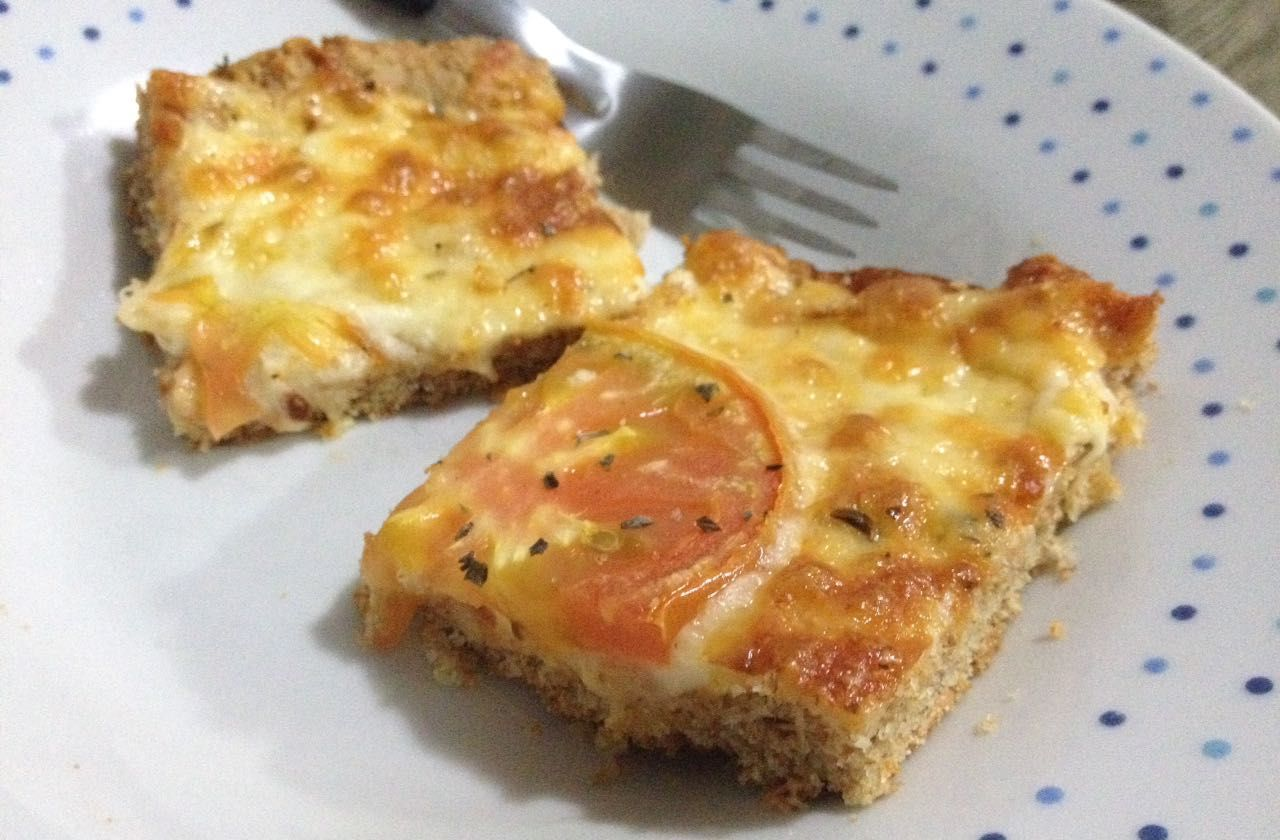 Pizza facinha integral - Lucila