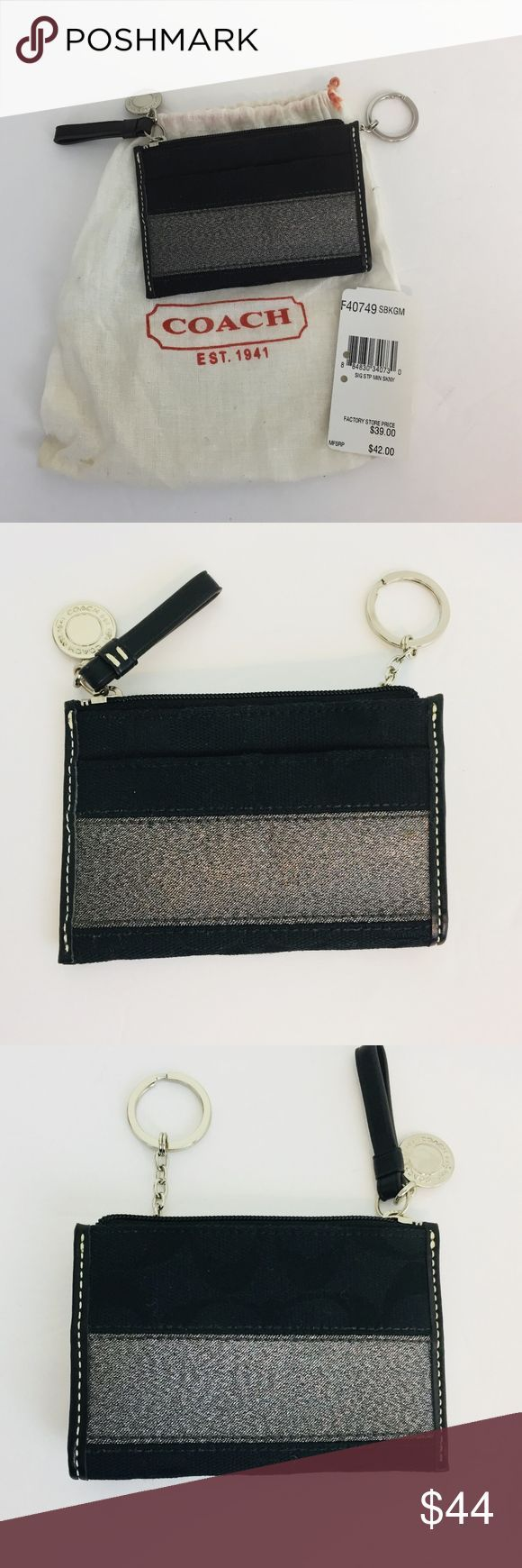 Coach Mini Skinny Coin Purse Q1 Coach Mini Skinny Coin
