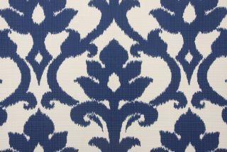 Richloom / John Wolf Basalto Outdoor Fabric in Navy $8.95 per yard