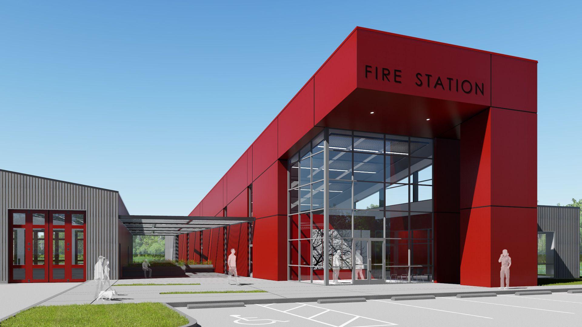 Resultado De Para Fire Station Design Awards